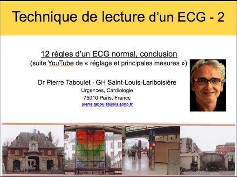 2b. Technique de lecture d'un ECG (2). 12 règles de base. Dr P. Taboulet (France) - YouTube