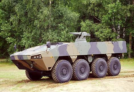 Patria AMV Armoured Modular Vehicle - Army Technology
