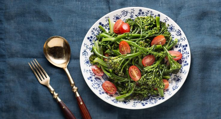 Broccolini Shines in This Sweet and Spicy Salad