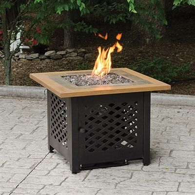 This Blue Rhino Outdoor Firebowl Is A Beautiful, Functional And. Square Fire  PitPropane ...