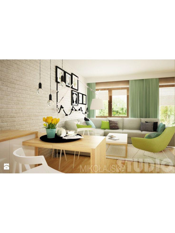 Mieszkanie w pastelowych kolorach - zdjęcie od MIKOŁAJSKAstudio