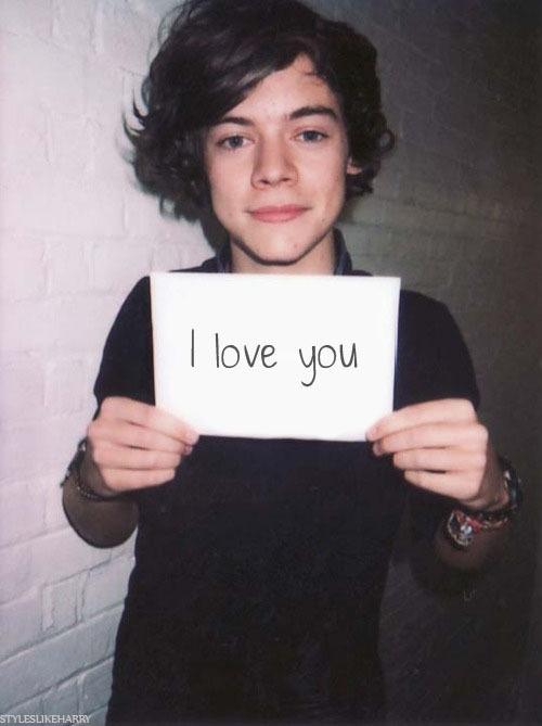 I love you too.