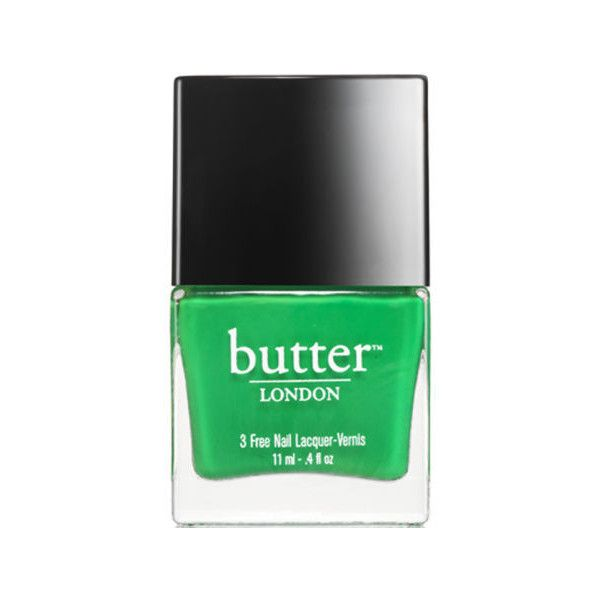butter LONDON Nail Lacquer - Sozzled (11ml) ($18) ❤ liked on Polyvore featuring beauty products, nail care, nail polish, nails, kosmetiikka, beauty, makeup, cosmetics, filler and butter london