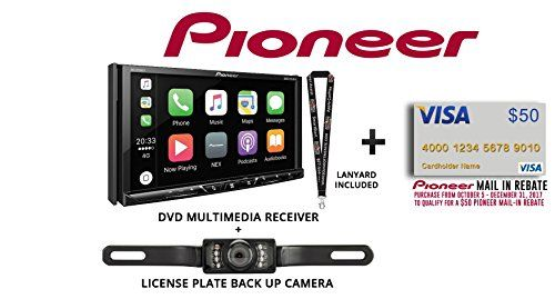 Pioneer AVH-2330NEX 7″ DVD Receiver HD Radio Apple CarPlay