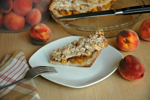 Ultimate Crumb Peach Pie - Bakewell Junction