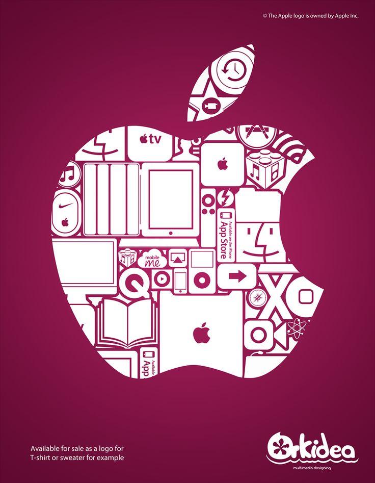 24 best Informática/Símbolos images on Pinterest | Apple logo ...