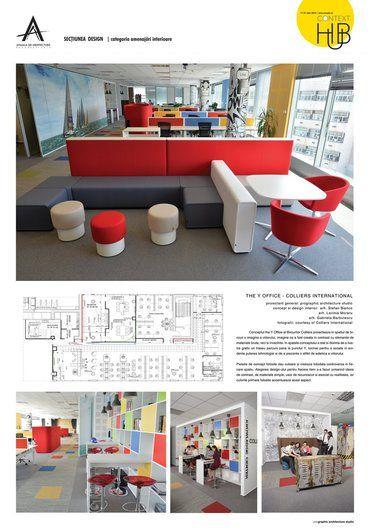 Amenajare interioară - Colliers - The Y Office