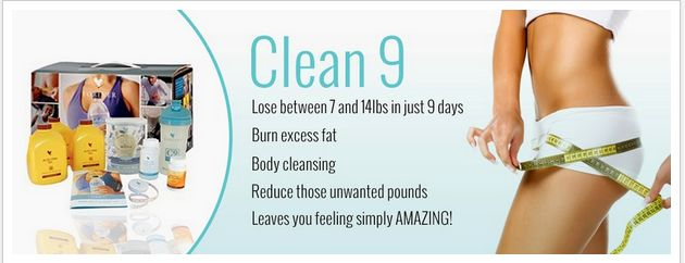 Healthy detox with clean 9