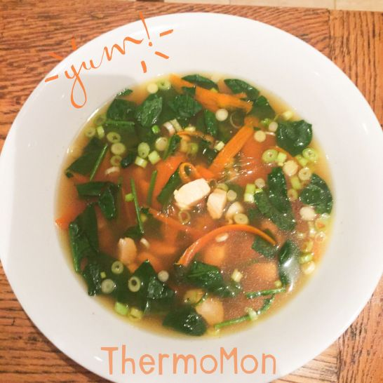 My yummy home made broth #broth #stock #paleo