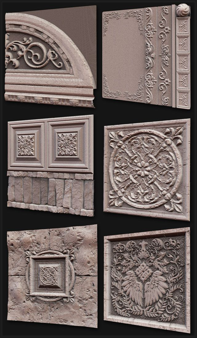 Zbrush and Mudbox Sculpts - Texture and Shader