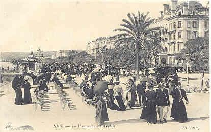 N D Phot Postcard - Nice - La Promenade des Anglais, c 1910