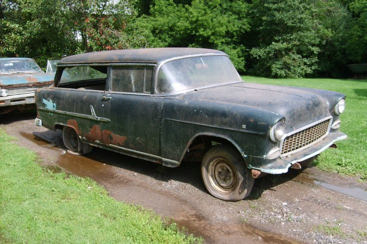 1955 Chevrolet Handyman: Project Wagon - http://barnfinds.com/1955-chevrolet-handyman-project-wagon/