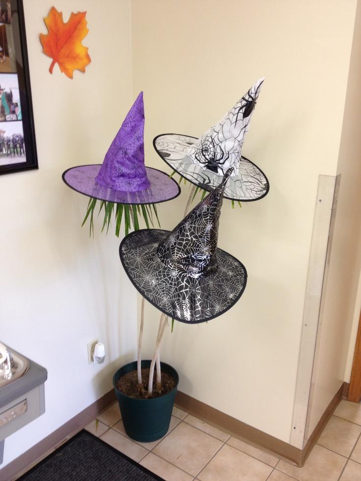 122 best Halloween images on Pinterest Halloween ideas, Holidays - halloween office decorating ideas