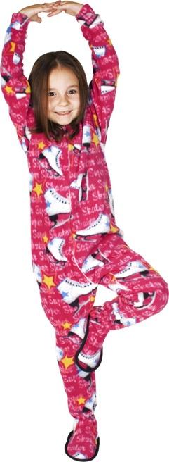 Super Skater Kids Footed Pajamas
