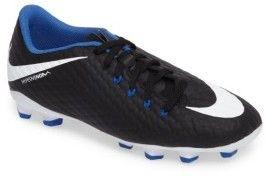 Nike Boy's Hypervenom Phelon Iii Firm-Ground Soccer Cleat