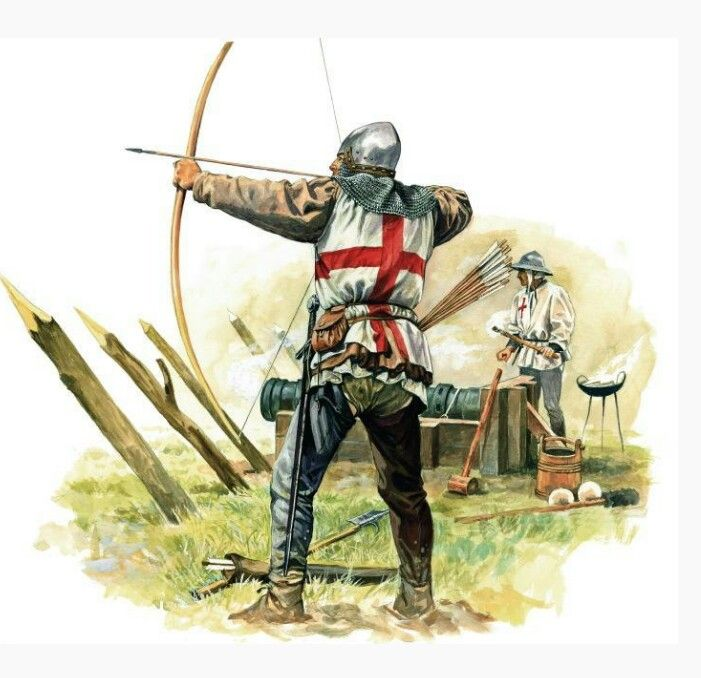 the english longbow is a powerful medieval longbow about
