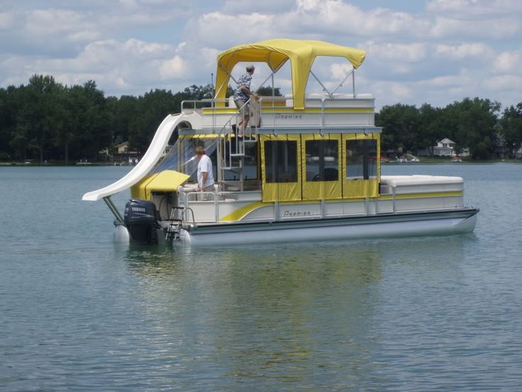pontoon boats with upper deck - Bing Images