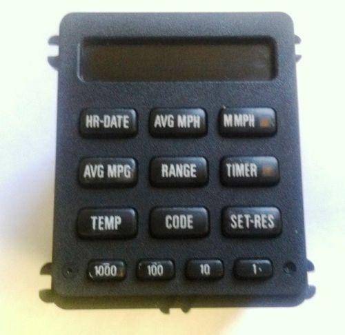 1988-Bmw325E-13-Button-Obc-On-Board-Clock-Vdo-325I