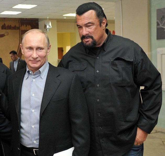 "Putin wants Russians to get in shape. Can Steven Seagal help? - Putin announced that he was reinstating a Joseph Stalin-era fitness program called ""Ready for Labor and Defense."" The program, which will encourage Russians of all ages to become physically fit, will be funded with money left over from the recently completed Sochi Olympics, Time magazine reports."