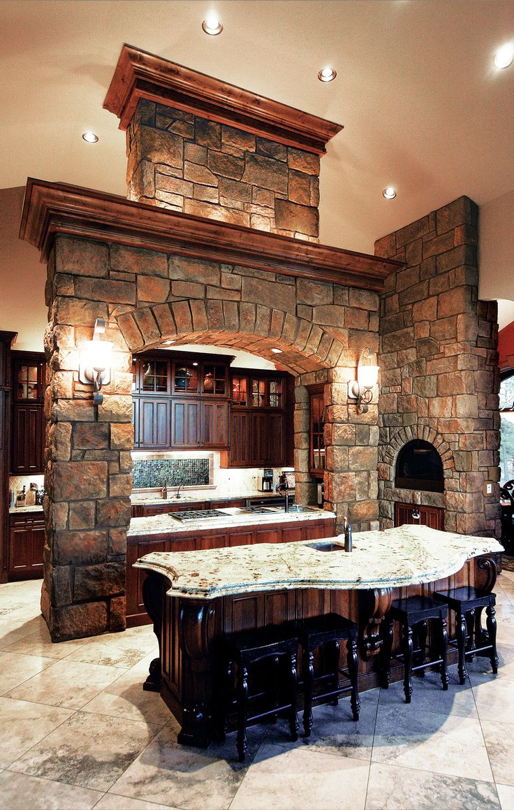 1000 Images About Interior Stone Veneer Applications On