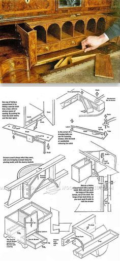 Secret Compartment Furniture - Furniture Plans and Projects | WoodArchivist.com