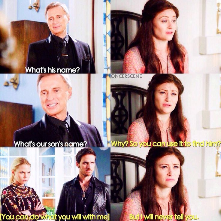 """""""What's our son's name?"""" - Rumple, Belle, Killian and Emma #OnceUponATime (by oncerscene)"""
