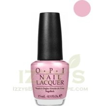 OPI Argenteeny Pinkini- pale pink, almost nudish, shimmery.  Fave.