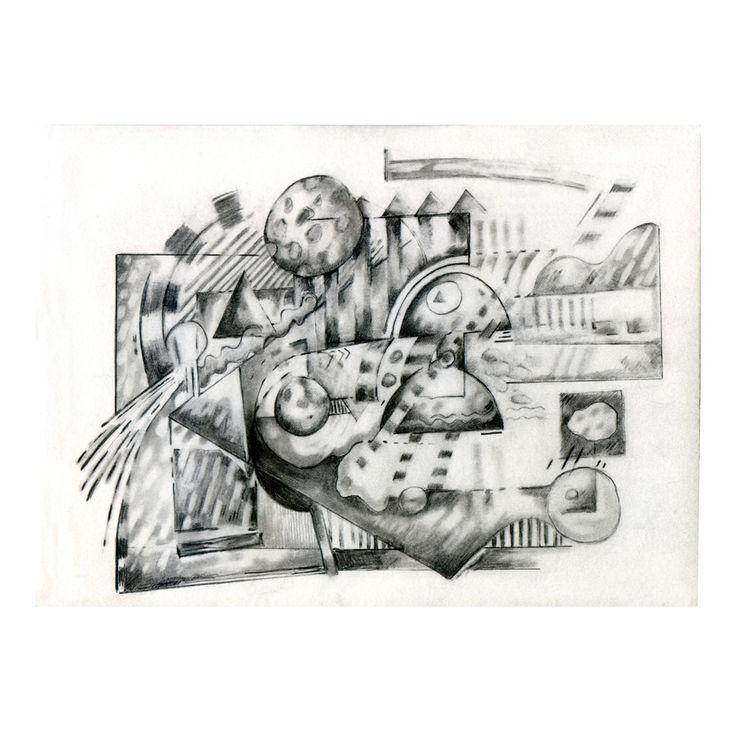 Penny Rimbaud Renaissance Drawing #9