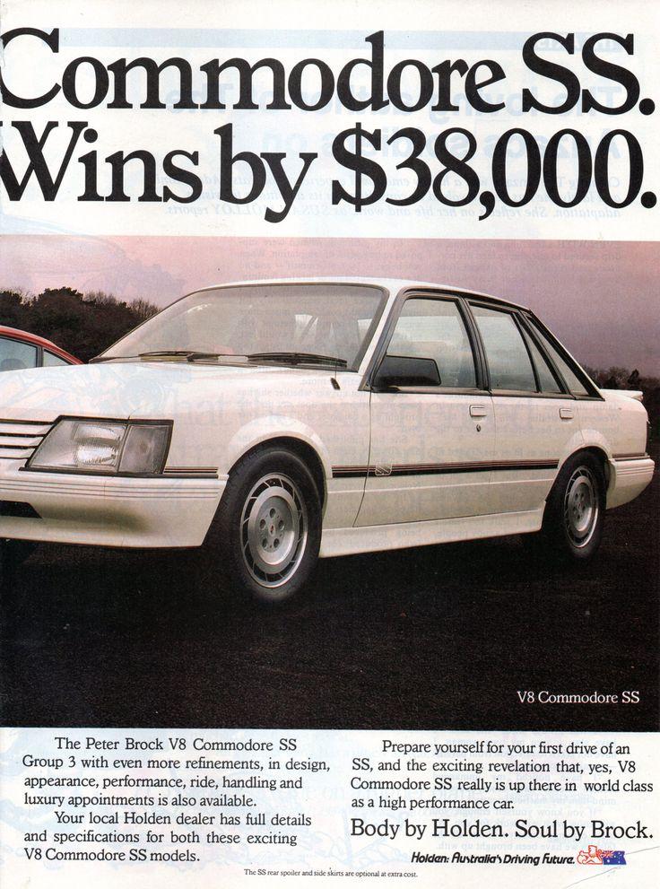 https://flic.kr/p/Hq7p4J | 1985 VK Holden Commodore SS V8 Peter Brock Page 2 Aussie Original Magazine Advertisement