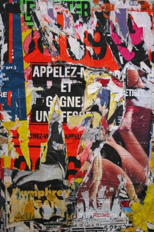 MODERNISM : EXHIBITIONS : Jacques VILLEGLE : Decollages from 1965 to 2006