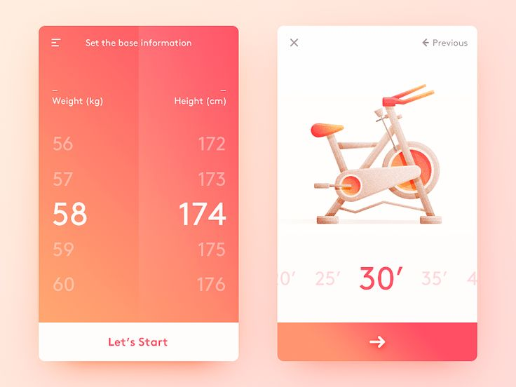 UI Design in Health & Fitness Apps – Inspiration Supply – Medium