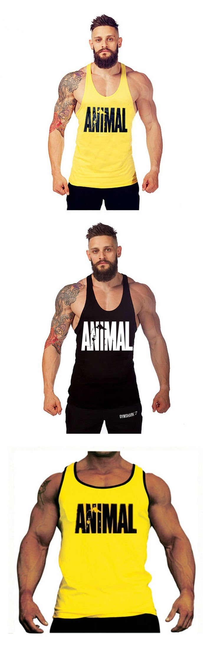Mens Tank Tops Shirt Singlets Bodybuilding Equipment Fitness Men's Golds crossfit Tank Top Brand Clothes M-2XL