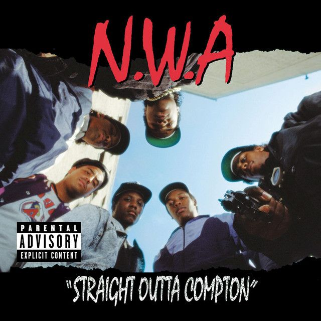 Saved on Spotify: Straight Outta Compton by N.W.A.