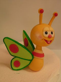 BABY Butterfly - FONDANT FIGURES