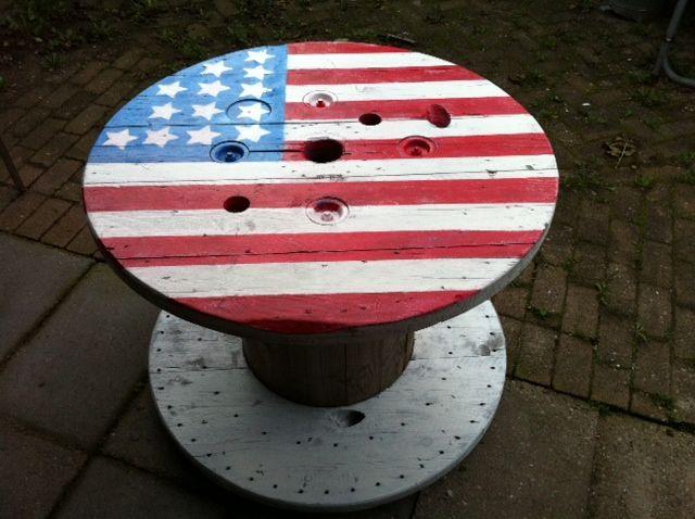 Tafel Amerikaanse vlag