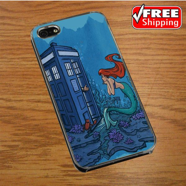 Ariel Mermaid Tardis IPHONE 4 | 4S COVER CASE