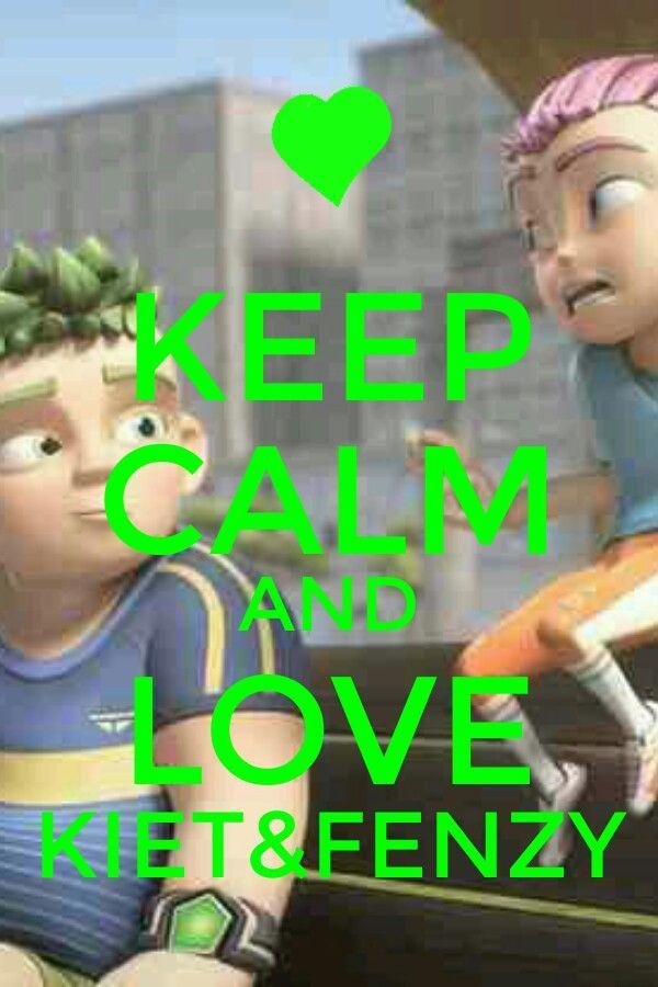 Keep calm and love Kiet&Fenzy (KyF)