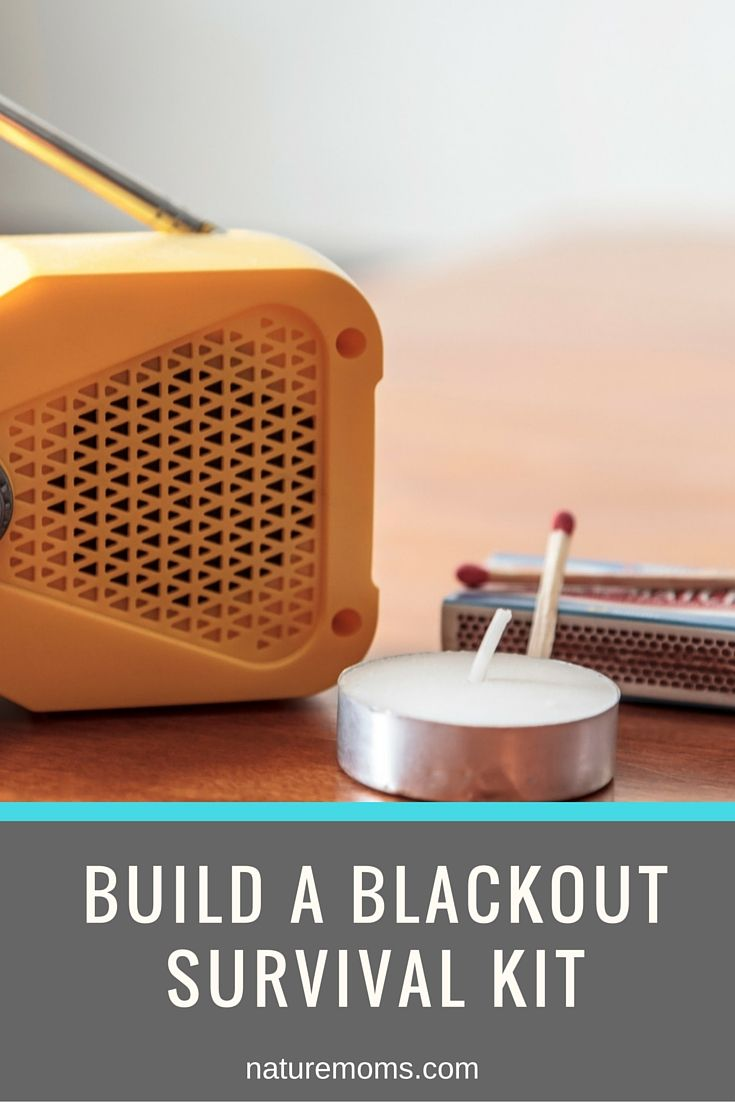 Having a blackout kit is one of those things that just makes sense for any and every household. Here is what you need to make one.