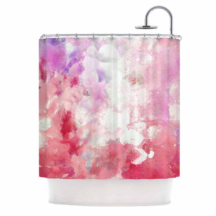 Amazing Pale Pink Shower Curtain Part  Pale Pink Ruffle Shower - Pale pink shower curtain