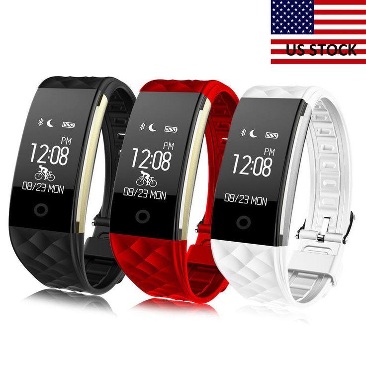 S2 Smart Bracelet Heart Rate Monitor GPS Sport Tracker Remote Camera Wristbands