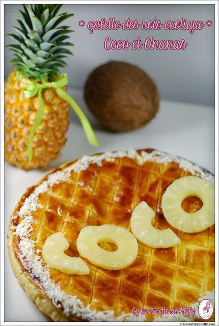 Galette des rois exotique: Coco et ananas