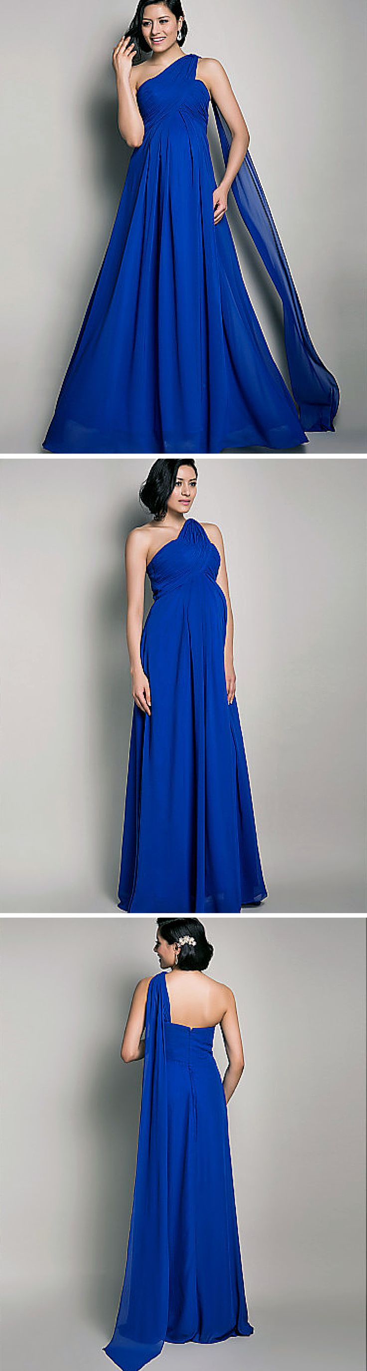 This maternity evening gown is such a beauty