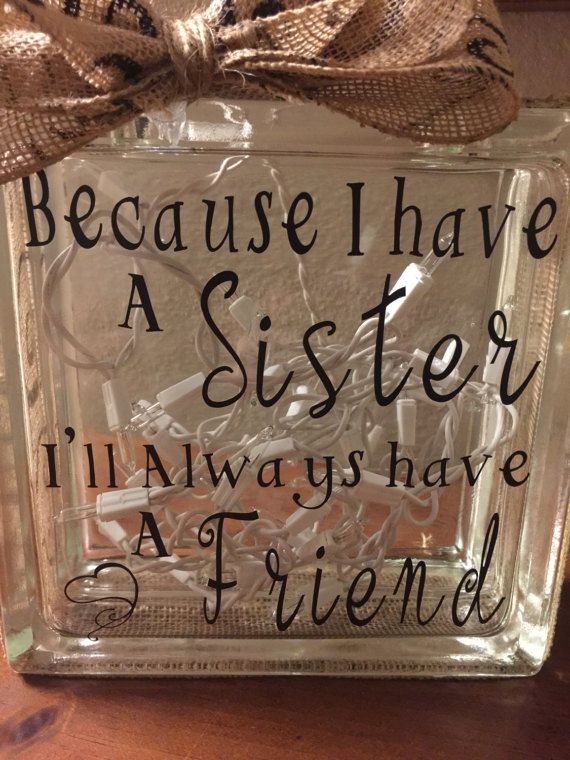 Sister Gifts Sister Birthday Gift For Sister Gift Ideas