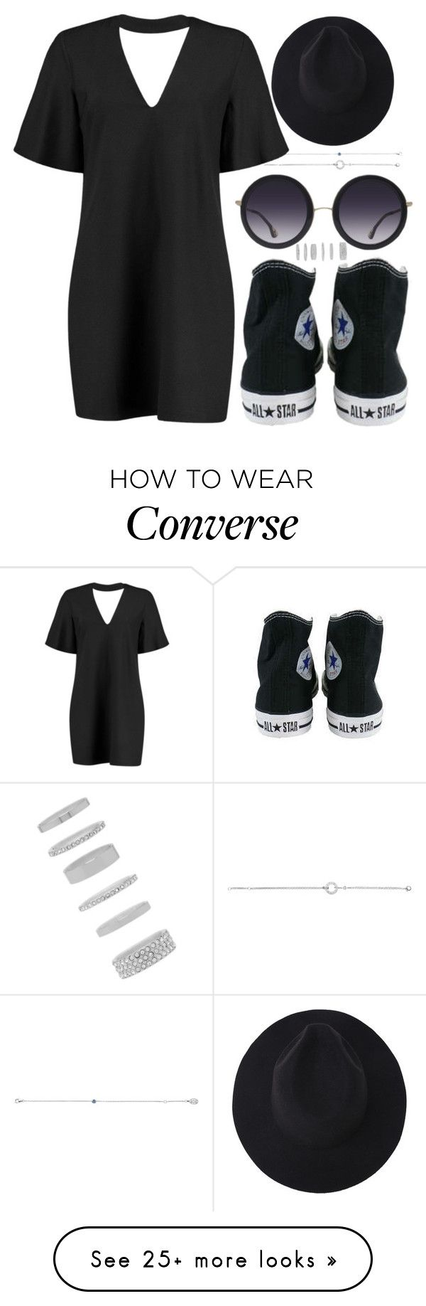 """""""Untitled #1141"""" by ana-mars-rodrigues on Polyvore featuring Cartier, Boohoo, Alice + Olivia, Converse and Forever 21"""