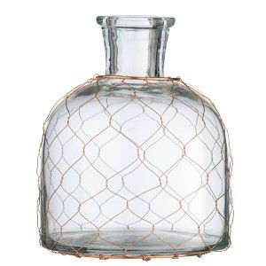 Szklany wazon 10cm Madam Stoltz