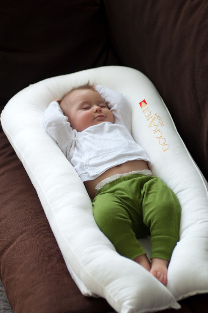 DockATot featured in The Hive mag as a bright idea for new moms!