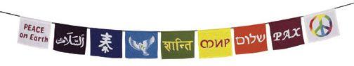 montessori peace banner