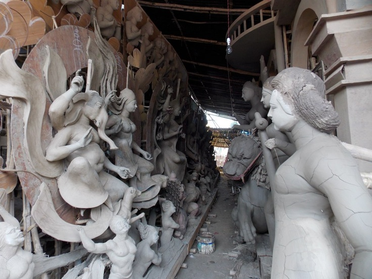 Pre Durga Puja Preparation