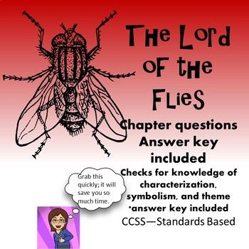 I've created chapter questions for Lord of the Flies that stimulate literary analysis and discussion.The student questions and the answer key are ready to print and go. I've included both a PDF and Word doc so that you may edit the assignment to fit your