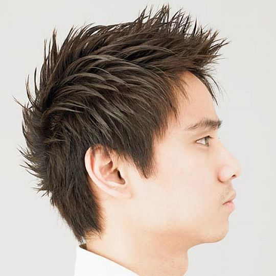 Spiky Hair Is One Of The Best Hairstyles For Asian Men! Seen Here With  Medium Length Hair, Show Up Clean Cut At The Office And Go Wild At Night.
